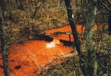 Acid Mine Water Drainage