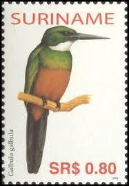 DG Suriname Stamps 1
