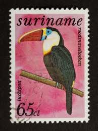 DG Suriname Stamps 5