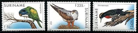 DG Suriname Stamps Set 1