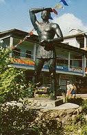 Kwakoe Statue Paramaribo
